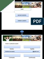 BOCETO DE LA PAGINA WEB