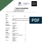timpani-percussion orchestral excerpts