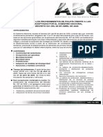 ABC No. 005 CONTINUIDAD DE LOS PROCEDIMIENTOS DE POLICÍA FRENTE A LAS ME...