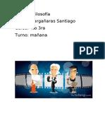 santiago. filosofia