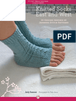 Knitted socks east and west 30 designs inspired by Japanese stitch patterns by Judy Sumner, Yoko Inoue