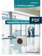 Fujitsu Hybrid Flex Inverter  HFI Mini Split  Systems Design Manual