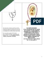 ORACIÓN santisimo rosario