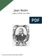 Jean Bodin ciencia politica