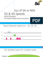 The Politics of SA vs NSA 5G & 4G Speeds