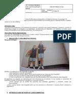 TALLER  CINCO - ESTIMULOS Y RESPUESTAS - GRADO OCTAVO