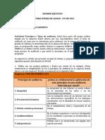INFORME EJECUTIVO- AUDITORIA. ACTIVIDAD 1