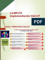 HACCP Ejemplos MPRincon
