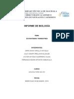 Informe de biología-ecosistemas terrestres.
