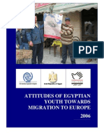 Attitudes of Egyptian Youth Towards Migration to Europe, Ayman Zohry
