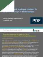 TTiB 2010 - Lecture %236 - Commercialization Strategies