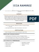 updated 436 resume