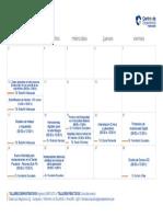 cronograma talleres FEB 2020