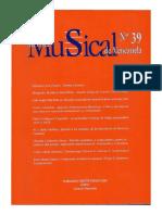 Revista Musical de Venezuela n 39
