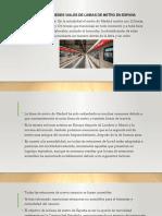 GESTION DE REDES VIALES DE LINEAS DE METRO DE ESPAÑA_DAVID