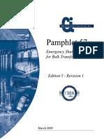 Pamphlet_57 Emergency Shut-Off Systems for Bulk Transport of Chlorine