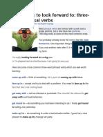 three-word phrasal verbs
