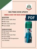 Dress code covid clinic- hospital