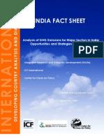 CCAP India Fact Sheet