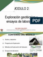 Módulo 2. Exploración y laboratorios