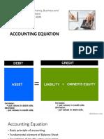 FABM 1 Accounting Equation
