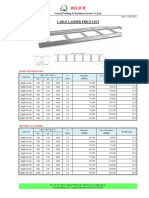DELICH CABLE LADDER PRICE LIST