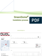 GreenDome_Installation process