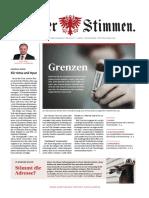 Tiroler Stimmen, Ausgabe 1-2020