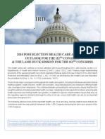 Obamacare Advisory for 112th Congress Nov 2010