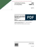 ISO 19901-2-2004 Seismic design procedures and criteria