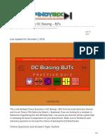 pinoybix.org-Boylestad MCQ in DC Biasing  BJTs