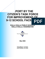 High School Task Force Final Report