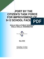 High School Task Force Final Report