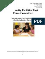Cftf 2010 Facilities Plan Report
