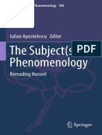 The Subject(s) of Phenomenology_ Rereading Husserl
