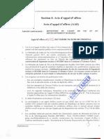 AVIS MINISTERE CADRE DE VIE_VIABILISATION LOT 4