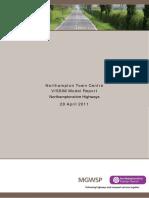 201104 N Ton Twn Centre VISSIM Model Report