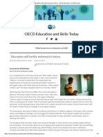 OECD - Education will fortify Indonesia's future