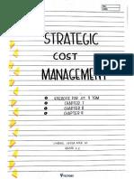 Compilation for Strategic Cost Management
