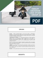 Harley Davidson - HBR Case Study