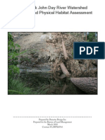 North Fork John Day River Watershed Sediment and Physical Habitat Assessment Demeter Design