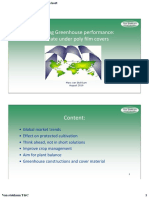 greenhouse performance polyfilm kort Jordan