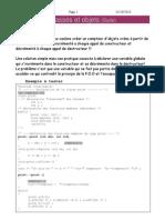 Cours 2 -Classes Et Objet- 2