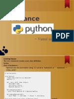 Advance Python