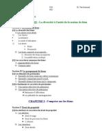 Droit Des Biens (UE2)