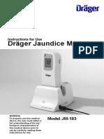Draeger-Jaundice-Meter-JM-103-Operators-Manual-
