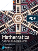 (FREE PDF link in description) Edexcel Pearson Mathematics for the IB Diploma - Analysis and Approaches HL