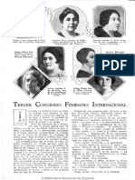 Tercer Congreso Femenino Internacional