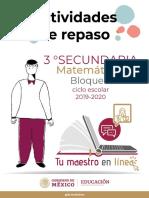 Matematicas3SecundariaBloque II