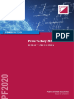 PowerFactory 2020 Product Specification